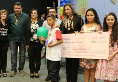 Barro-CE: Escola Catarina Tavares recebe prêmio PETECA 2017 na modalidade Curta-Metragem